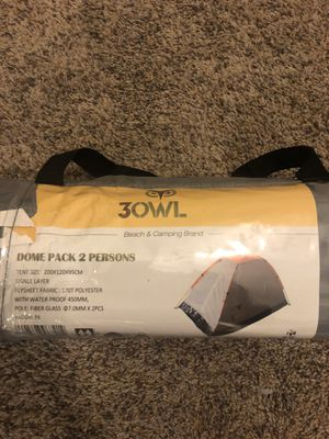 Two person light weight tent for Sale in Arlington, TX