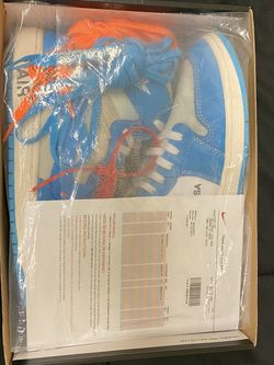 Jordan 1 Off White UNC Size12 for Sale in Norman,  OK