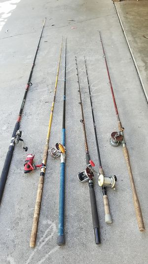 Ocean Rods with Reels for Sale in Arroyo Grande, CA