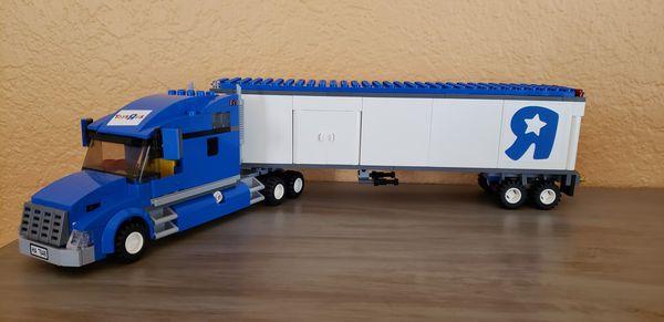 Lego City Toys R Us Truck Set Model 7848