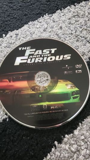 The Fast and the Furious first movie CD for Sale in Fremont, CA