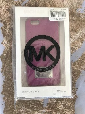 brand new iphone 6 Michael Kors pink phone case for Sale in San Diego, CA