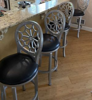 4 counter height stools for Sale in Toms River, NJ