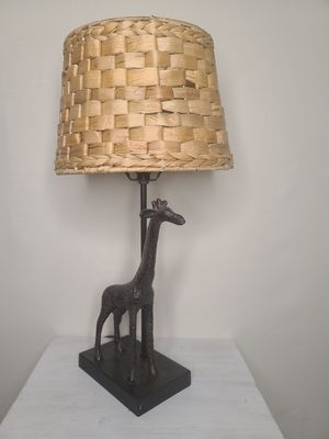 Metal Giraffe Table Lamp for Sale in Lafayette, LA