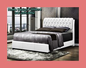 Brand New Queen Or Full Size Bed With Orthopedic Mattress For for Sale in Queens, NY