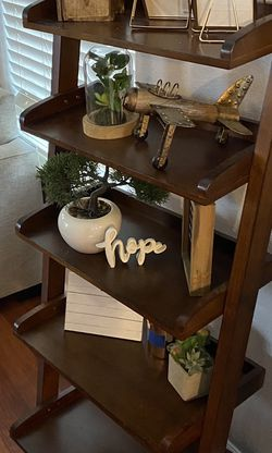 BEAUTIFUL LADDER SHELF FOR SALE $50!! for Sale in Tigard,  OR
