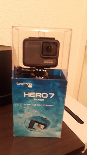 Brand new in box go pro hero7 silver under water camera for Sale in Los Angeles, CA