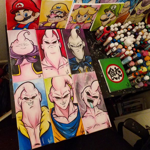Forms Of Majin Buu Set! By Quil - Dragonball Z