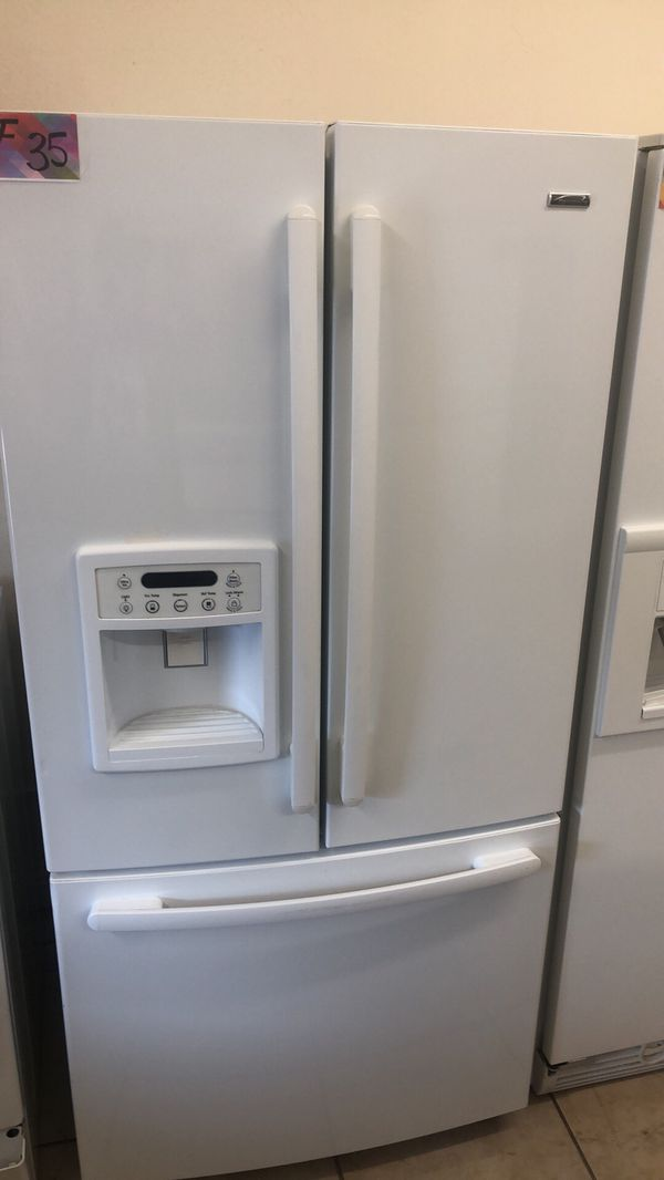 Refrigerator French door fridge 33 width