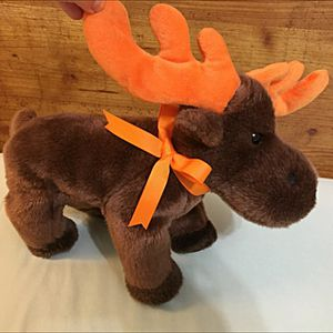 Brand new , Small Elk Plushie it's very soft, never use for Sale in Hillside, NJ