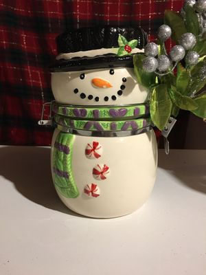 Snowman Cookie Jar for Sale in Charleroi, PA