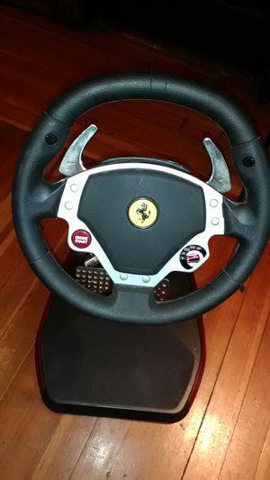 Thrustmaster Ferrari Wireless Gt Cockpit Wireless ( Pc or Ps3) for Sale in Boston, MA
