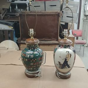 Norman Rockwell table lamps for Sale in Portland, OR