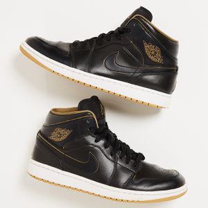 Nike Air Jordan 1 Retro Mid 'Black/Metallic Gold' SZ 10M for Sale in Petaluma, CA