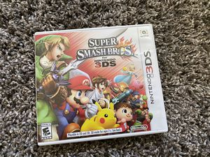 Nintendo 3DS Super Smash Bro's for Sale in Fresno, CA