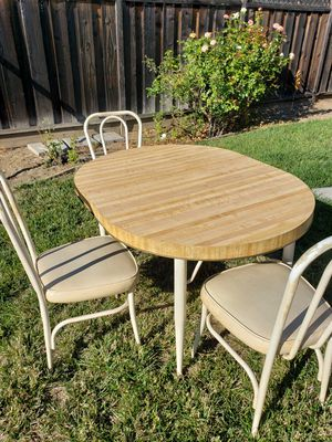 Formica Kitchen Table & 4 Chairs for Sale in San Jose, CA