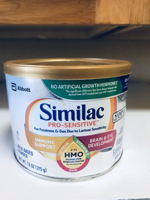 Similac Pro-Sensitive formula for Sale in El Paso, TX