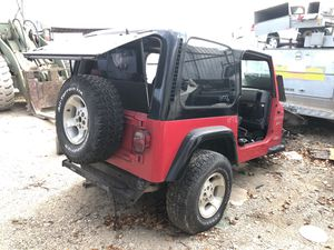 2002 Jeep Wrangler parts for Sale in Grand Prairie, TX