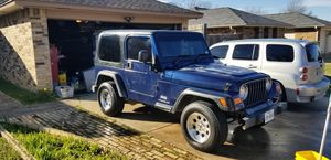 2003 jeep wrangler tj rhd for Sale in Bedford, TX