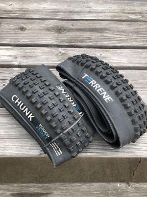 Terrene Chunk Mtn Bike tires (NEW) for Sale in Denver, CO