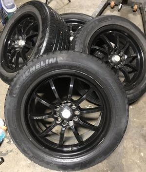 "Velocity Sportec Black 17"" Wheels Universal for Sale in El Cajon, CA"
