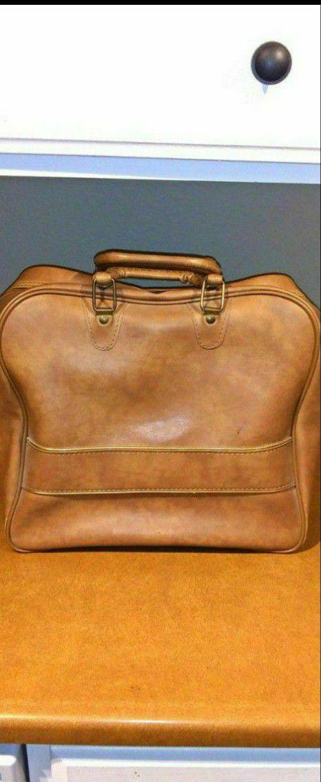 Old bowling bag