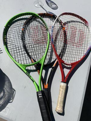 Wilson tennis rackets for Sale in Scottsdale, AZ