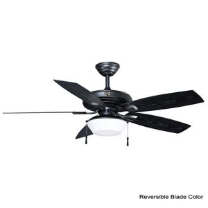 Gazebo 52 in. LED Indoor/Outdoor Natural Iron Ceiling Fan with Light Kit. BRAND NEW! for Sale in Fort Lauderdale, FL