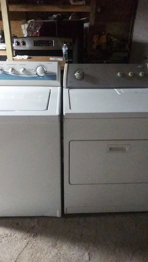 ADMIRAL WASHER AND WHIRLPOOL DRYER for Sale in Riverdale, GA
