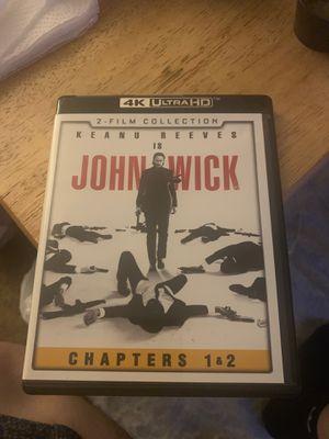 John wick chapters 1-2 4K HD for Sale in Los Angeles, CA