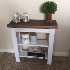 Farmhouse Entryway Table for Sale in Raleigh, NC