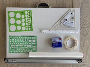 Alvin Architecture Set (Drafting Board + Paper and Accessories) for Sale in Miami, FL