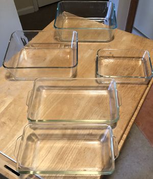 5 pc Pyrex - MOVING SALE for Sale in Woodbridge Township, NJ