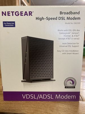 Netgear Broadband High-Speed DSL Modem DM200 for Sale in Lynchburg, VA
