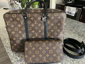 Authentic Louis Vuitton Men's Bag and Wallet for Sale in Scottsdale, AZ