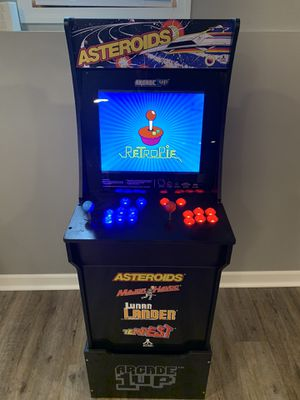 Arcade 1up with stand modded to include 200+ games for Sale in Crystal Lake, IL