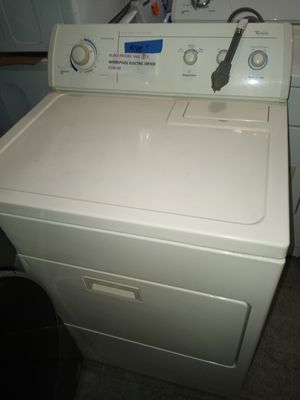 🔥🔥SALE 🔥🔥WHIRLPOOL ELECTRIC DRYER WORKING PERFECT W/4 MONTHS WARRANTY for Sale in Baltimore, MD