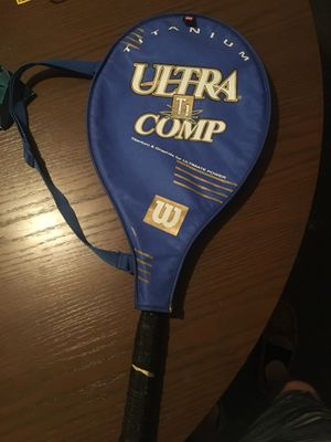 Wilson's Titanium Ti Ultra Comp tennis racket for Sale in Columbus, OH