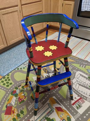 Solid Wooden Highchair for Sale in Tumwater, WA
