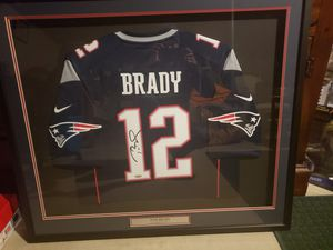 Tom Brady signed Jersey with tristar coa for Sale in Crandon, WI