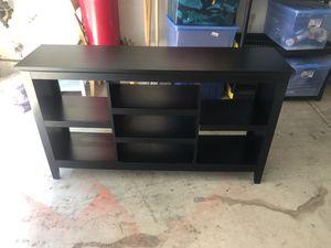 Black Long Shelf Storage Unit for Sale in Tustin, CA