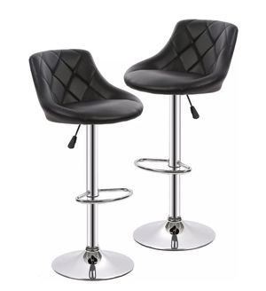 (Still Available) Set of 2 Black Bar Stools for Sale in Casselberry, FL