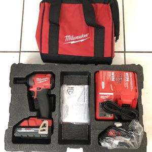 M18 FUEL 18-Volt Brushless Cordless 1/4 in. Hex Impact Driver Kit W/(2) 3.0Ah Batteries, Charger & Travel Case for Sale in Miami, FL