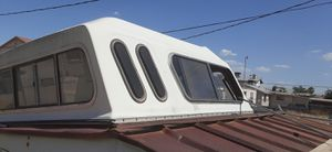Small truck fiberglass camper shell- dimensions are 60 inches x 76 inches long for Sale in El Paso, TX