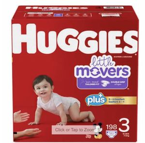 Huggies little mover size 3 diaper for Sale in Jersey City, NJ