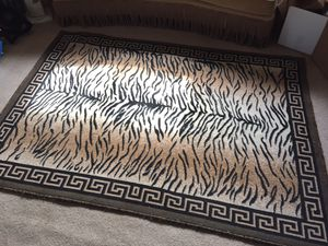 5x7 tiger rug for Sale in Long Beach, CA
