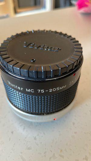 Vivitar lens multiplier for Sale in Harpswell, ME