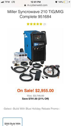 Miller Syncrowave 210 TIG/MIG WELDER for Sale in Orlando, FL