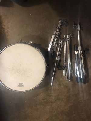 Ludwig Snare Drum w/case and stands for Sale in North Richland Hills, TX