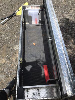 WeatherGaurd Aluminum truck took box for Sale in Newton, NJ